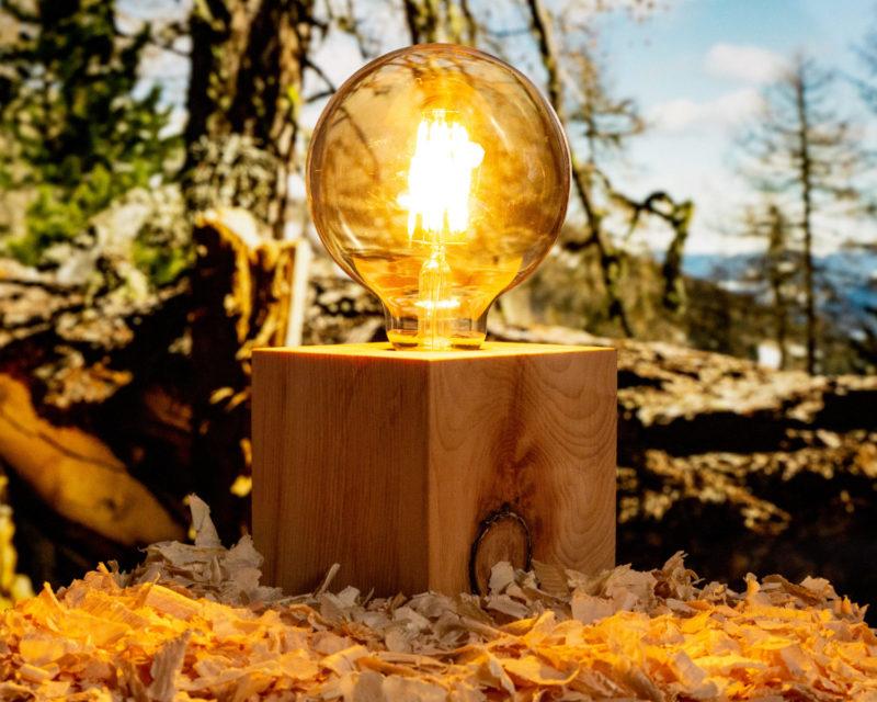 Zirbli Lampe Kubus