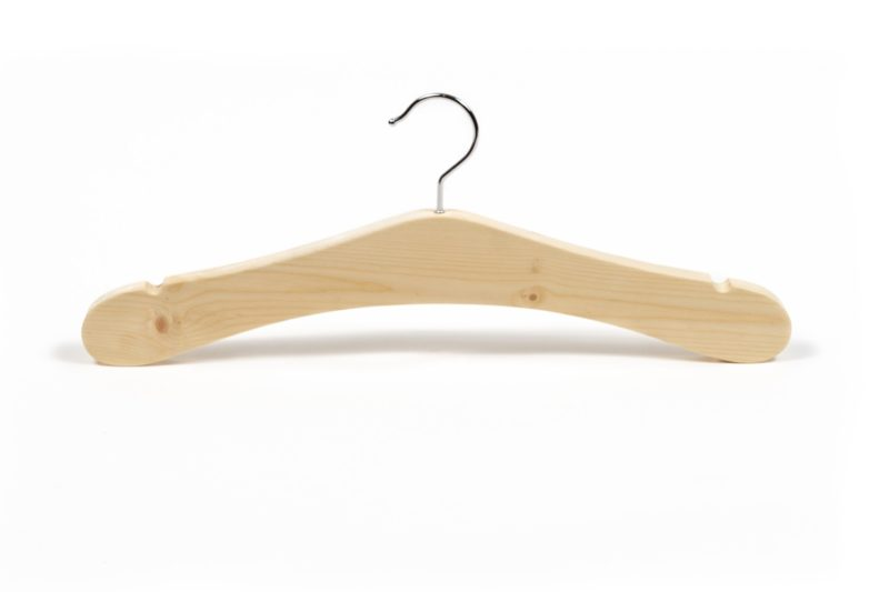 Zirbli Kleiderbügel massives Zirbenholz